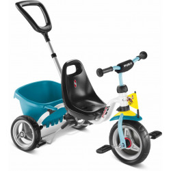Tricycle PUKY CAT 1S Blanc-Menthe