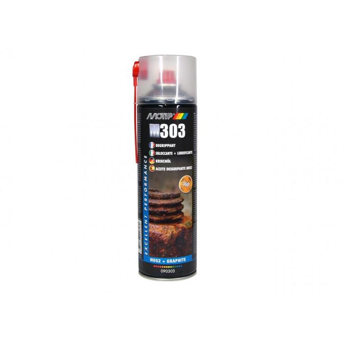 Dégrippant MoS2 MOTIP spray 500ml - vendu par 12