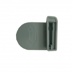 Badge de télépéage gris