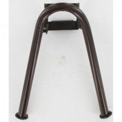 Béquille centrale marron cyclo