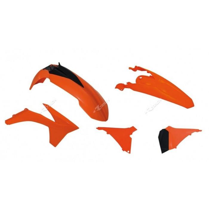 Kit plastique RACETECH couleur origine (2013) KTM