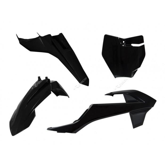 Kit plastique RACETECH noir KTM SX65