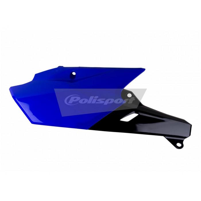 Plaques latérales POLISPORT bleu/noir Yamaha YZ250F/YZ450F