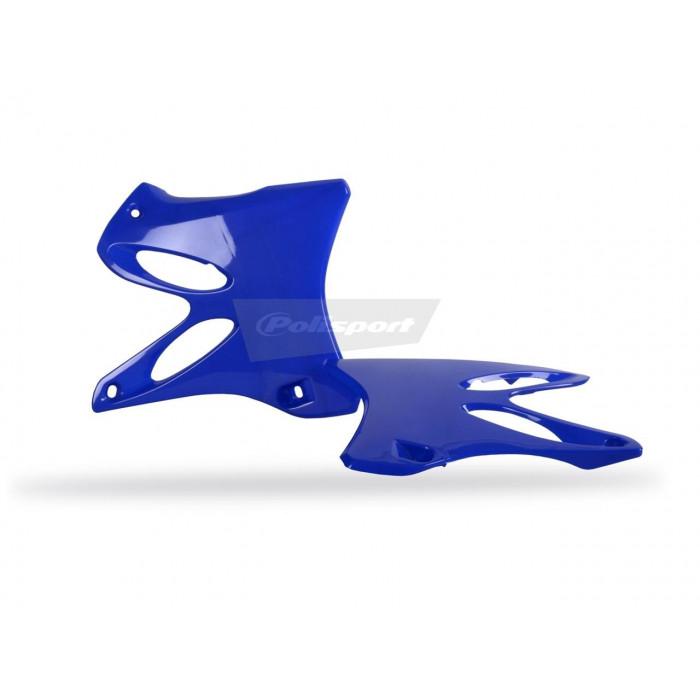 Ouïes de radiateur POLISPORT bleu Yamaha YZ125/YZ250