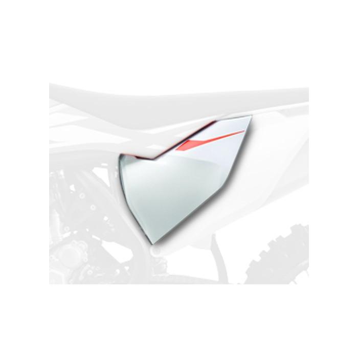 Caches boîte à air POLISPORT blanc KTM SX85