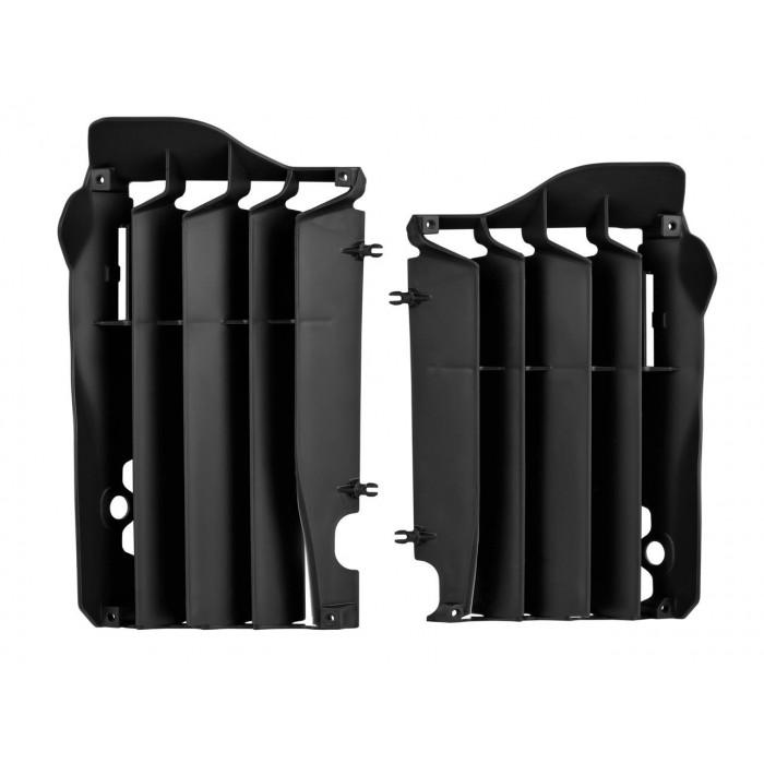 Cache radiateur POLISPORT noir Kawasaki KX250F