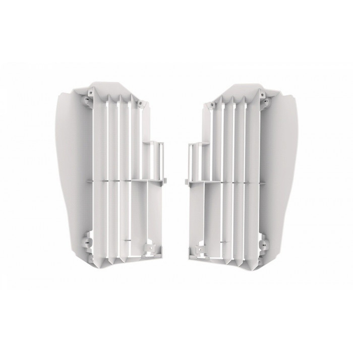 Cache radiateur POLISPORT blanc Yamaha YZ450F