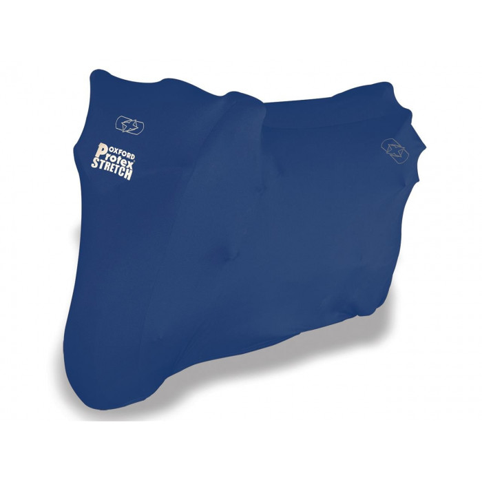 Housse de protection OXFORD Protex Stretch Indoor Stretch-fit bleu taille M
