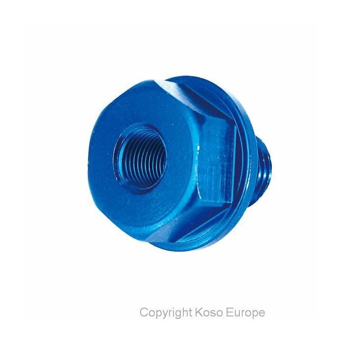 Vis adaptateur sonde de température d'huile M14x1,25x15mm Koso