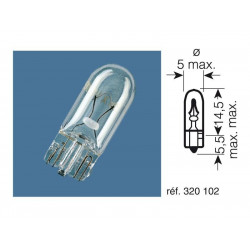 Ampoule OSRAM 2722 12V/2W...