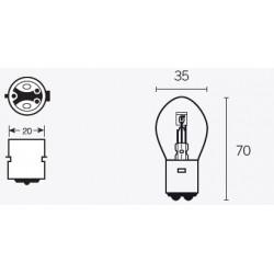 Ampoule V PARTS B35...