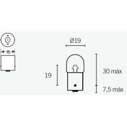 Ampoule V PARTS R5 12V/5W...