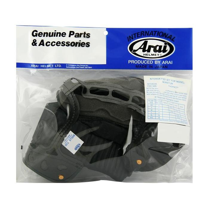 Coiffe intérieure ARAI Dry-Cool taille XL/XXL 7mm (épaisseur standard XL) pour casques Quantum