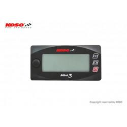Voltmètre + montre KOSO...