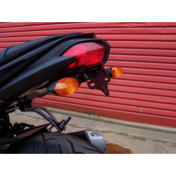 Support de plaque R&G RACING noir Yamaha