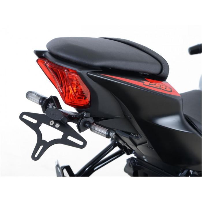 Support de plaque R&G RACING noir Suzuki GSX-R125