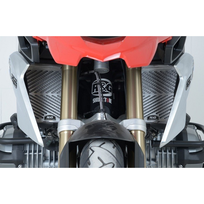 Protection de radiateur R&G RACING inox BMW R1200GS