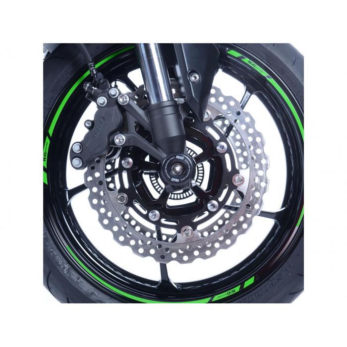 Protection de fourche R&G RACING noir Kawasaki Z900