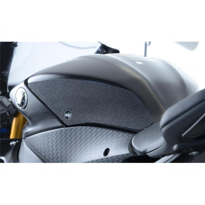 Kit grip de réservoir R&G RACING 2 pièces clair Yamaha R6