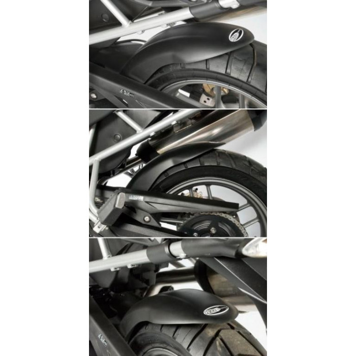 Lèche-roue noir R&G RACING Triumph Tiger 800