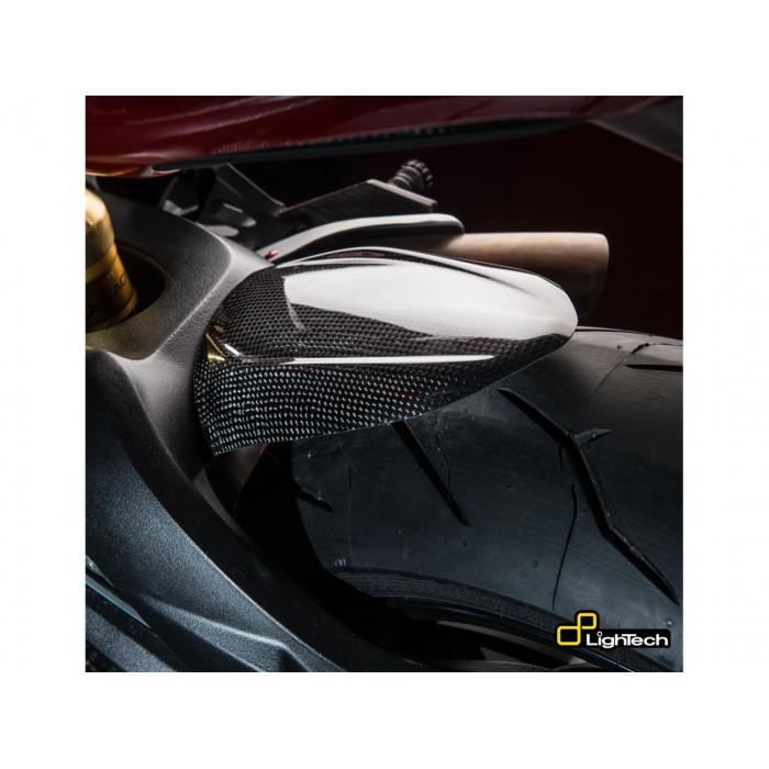 Garde boue arrière LIGHTECH carbone mat Mv Agusta F3 800