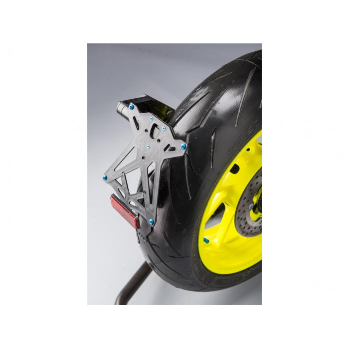 Support de plaque LIGHTECH noir Yamaha MT-09