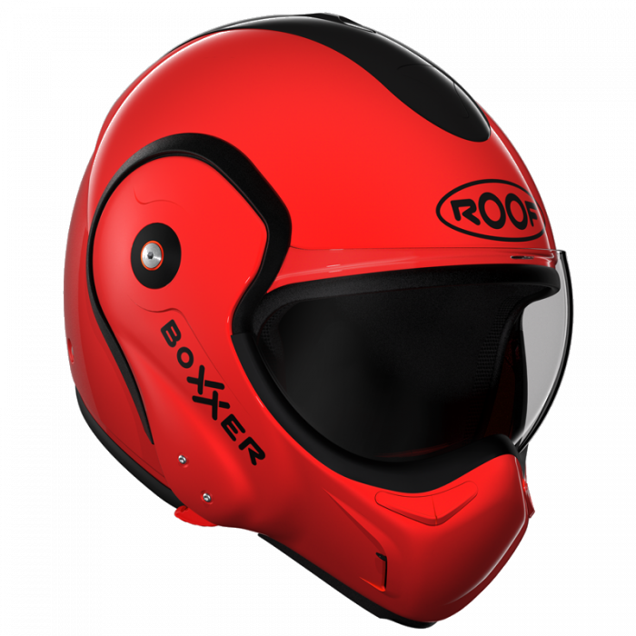 Casque ROOF Boxxer RO9 rouge T.SM