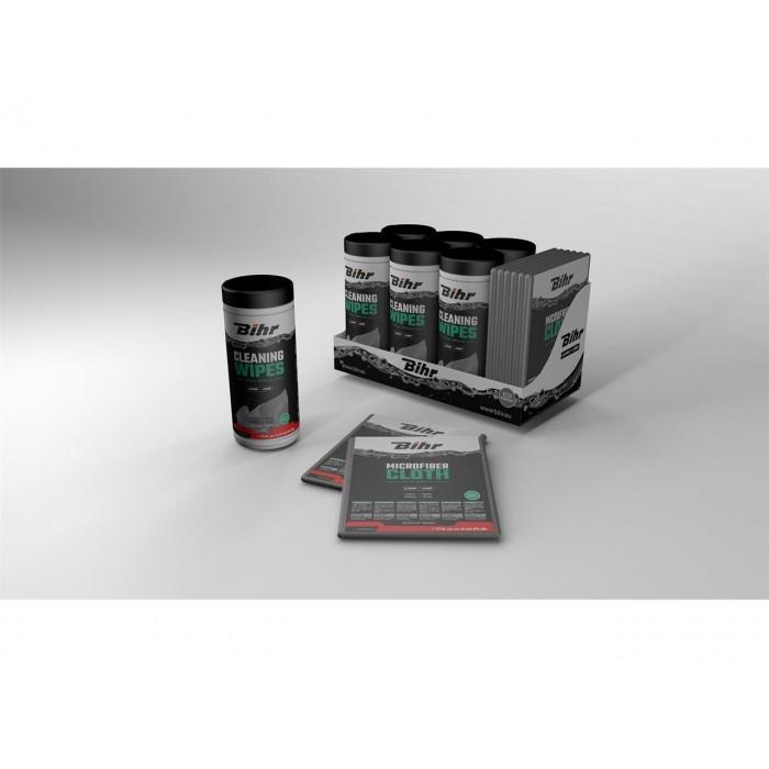 Lingettes nettoyantes BIHR Multi-usage 50 lingettes + 1 microfibre