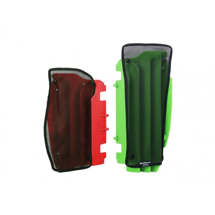 Filet cache radiateur POLISPORT noir Suzuki
