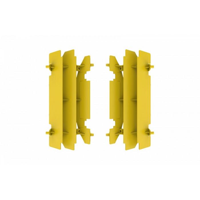 Cache radiateur POLISPORT jaune Suzuki