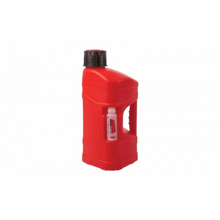 Bidon POLISPORT ProOctane 20L remplissage rapide rouge + melangeur 250ml