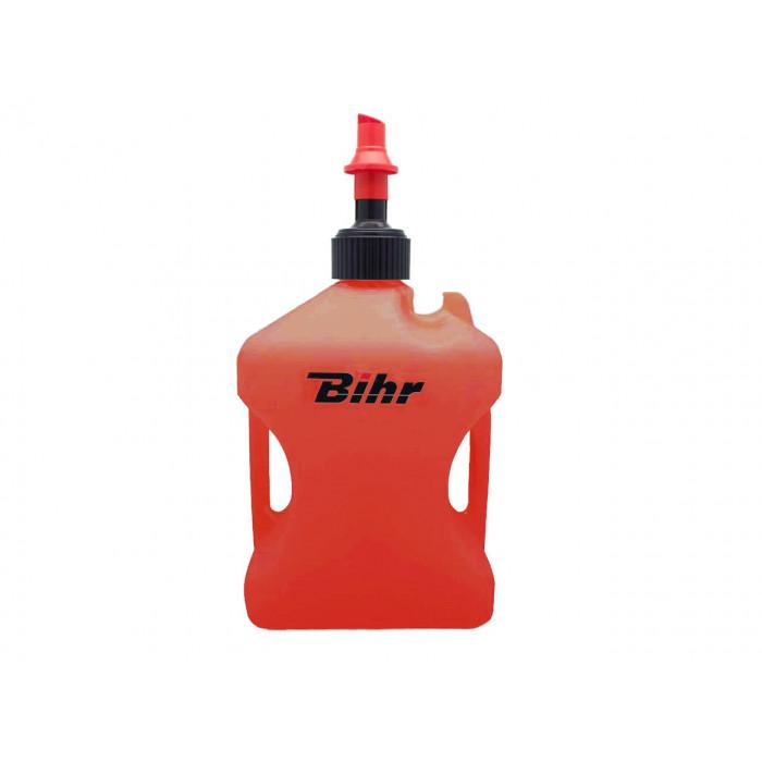 Bidon d'essence BIHR Home Track homologué TÜV rouge 10L