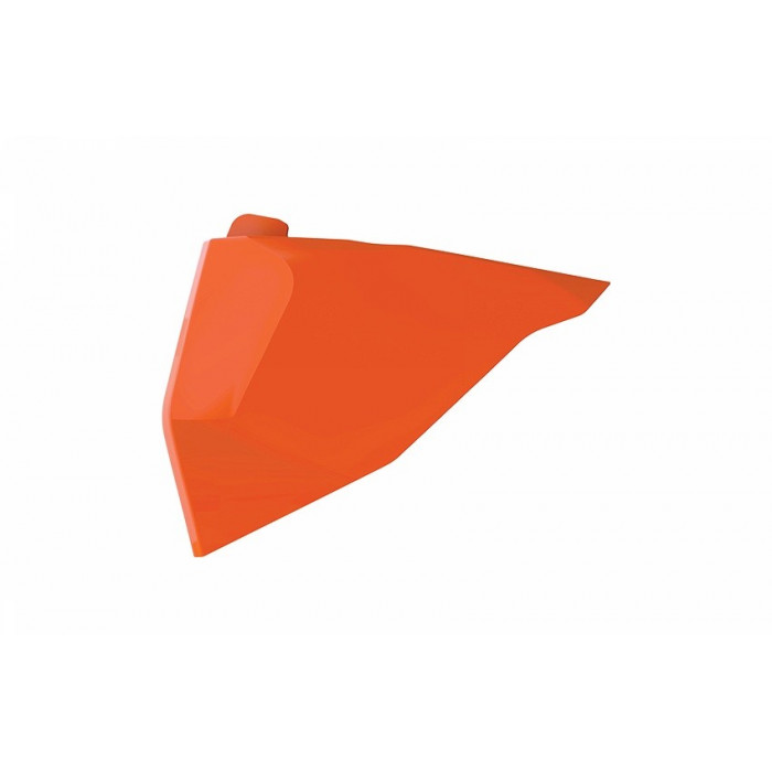 Cache boîte à air POLISPORT orange KTM SX/SX-F