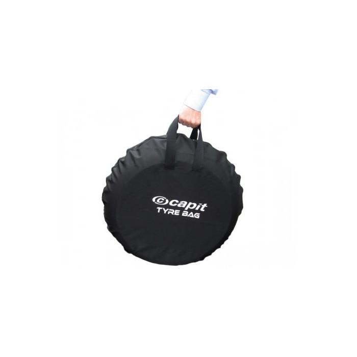 """Housse de roue CAPIT noir S/M 120/17"""""""