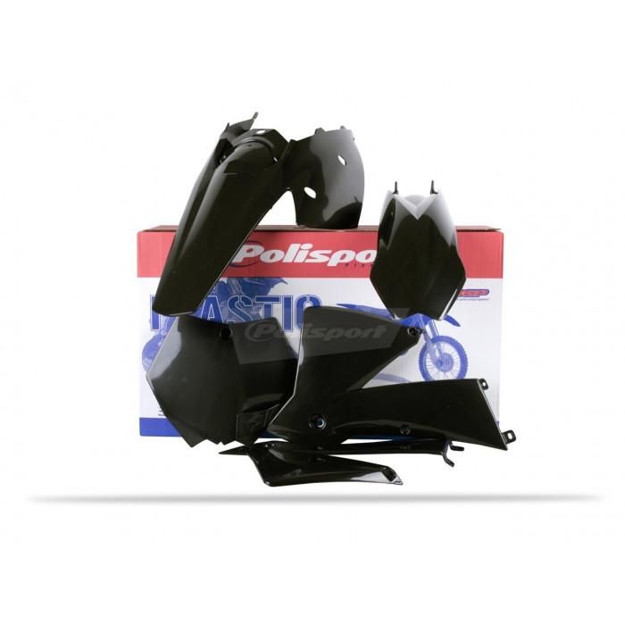 Kit Plastiques Polisport Sx125 Couleur Noir