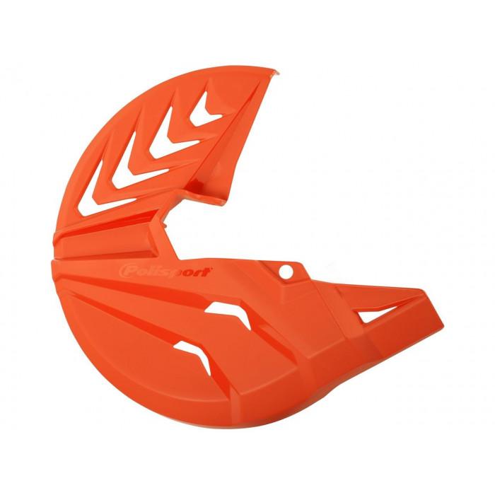Protège disque avant POLISPORT orange