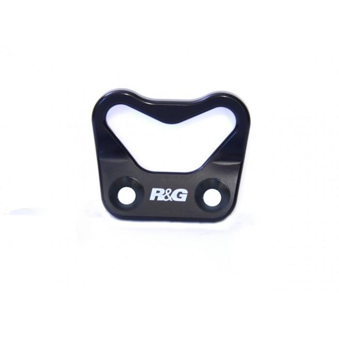 Platines pour sangles R&G RACING noir Ducati Panigale