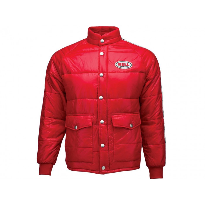 Veste BELL Classic Puffy rouge taille S