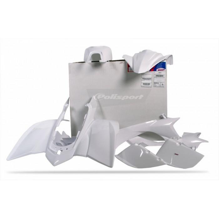 Kit plastique POLISPORT White Yamaha YFZ450