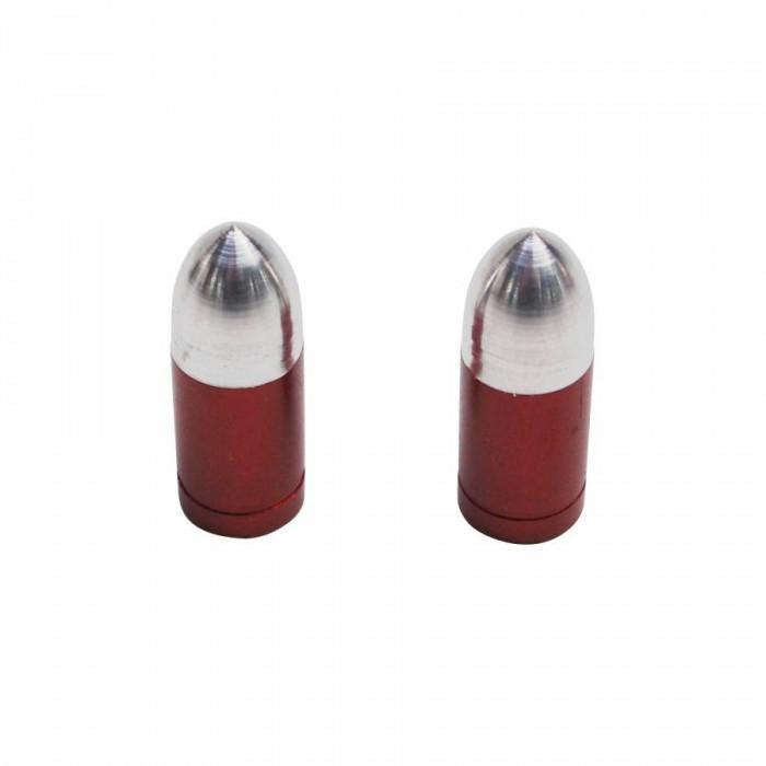 Bouchon de valve replay obus rouge (paire) vs