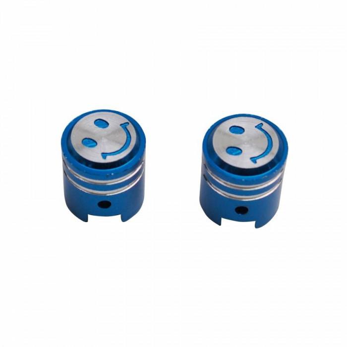 Bouchon de valve replay piston bleu (paire) vs
