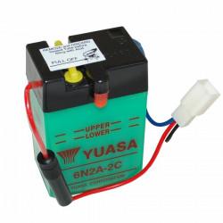 Batterie  6v  2 ah 6n2a-2c...