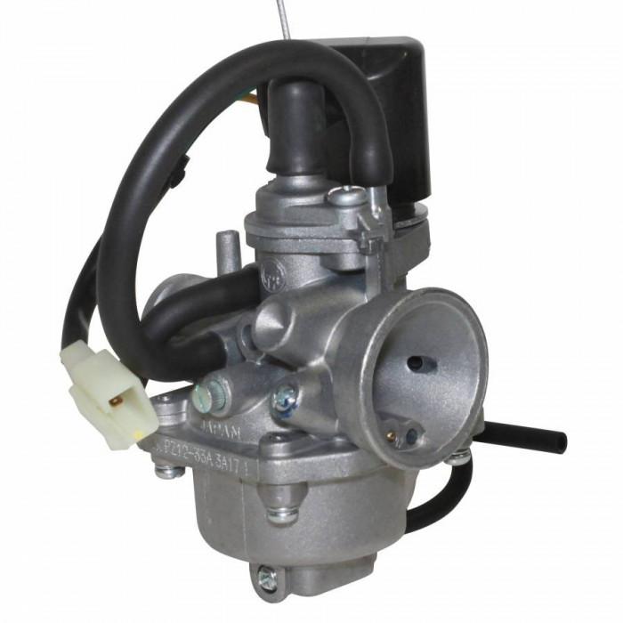 Carburateur scoot adaptable peugeot 50 ludix, speedfight 3, jet force, vivacity 2t (tk origine diam 12mm)