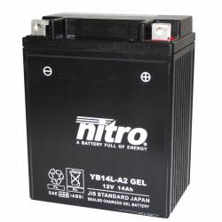 Batterie 12v 14ah yb14l-a2...