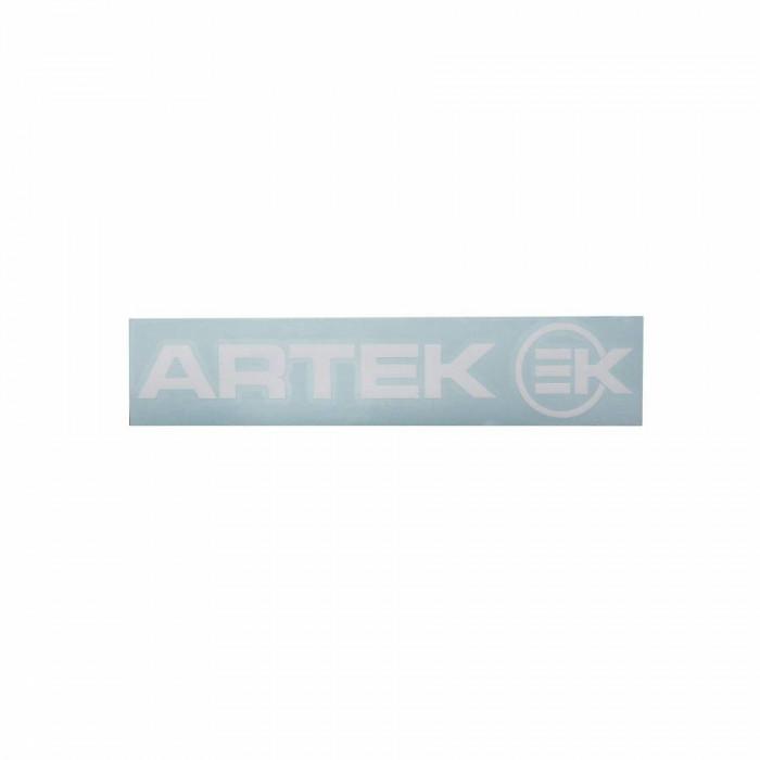 Autocollant artek blanc (planche 215mm x 45mm avec 1 artek et 1 ek)
