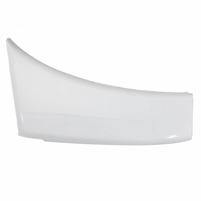Carenage-cache av lateral maxiscooter adaptable yamaha 530 tmax 2012+2014 blanc brillant gauche