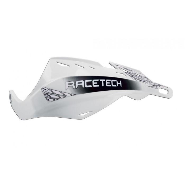 Protège-mains RACETECH Gladiator blanc