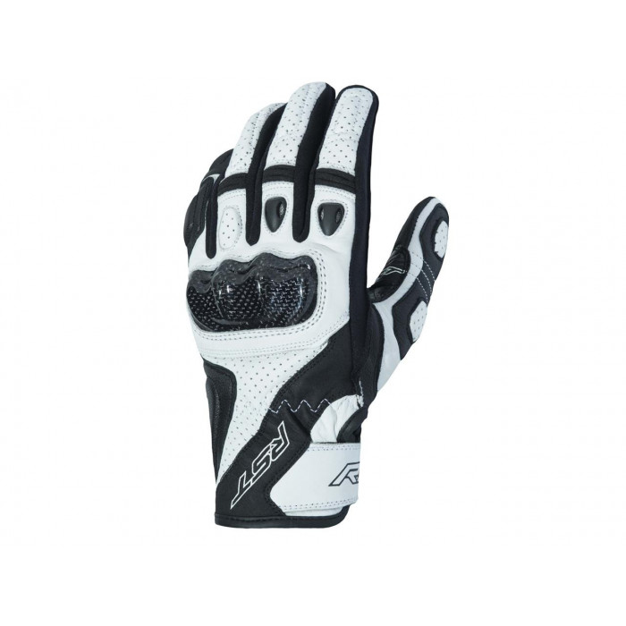 Gants RST Stunt III CE cuir/textile blanc taille M/09 homme