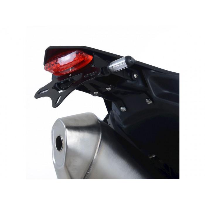 Support de plaque R&G RACING noir KTM SMC-R690