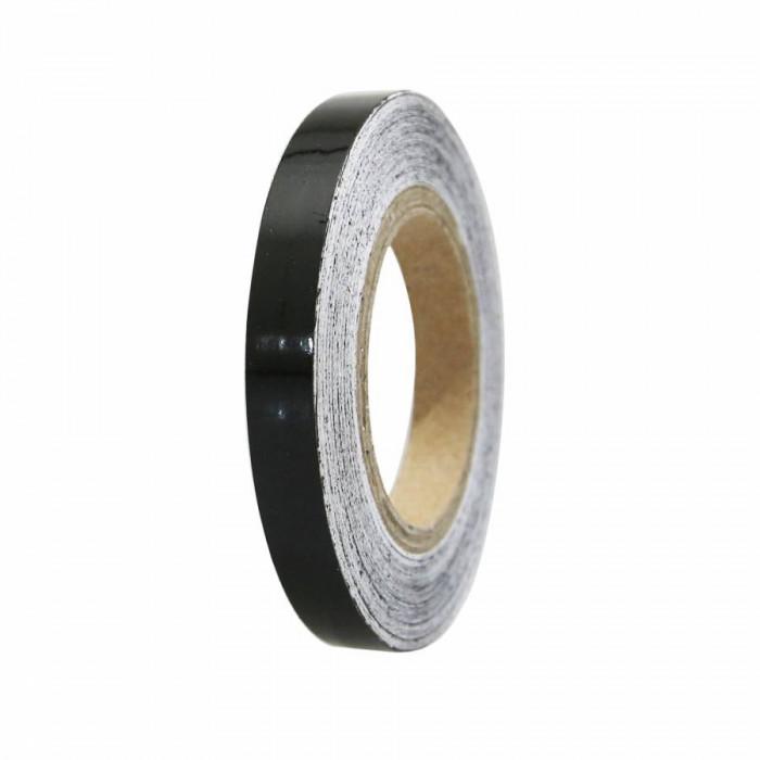 Liseret-autocollant-sticker jante replay noir 7mm 6m avec applicateur